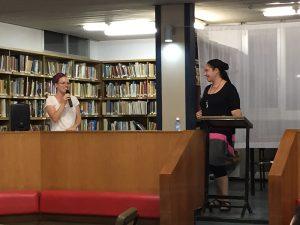 Lecture at Kvutzat Yavne, Israel