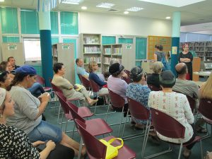 22 june 2015 -Lecture at the Pardes Hana library, Israel